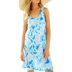 Lilly Pulitzer Patterson Tank Dress Into the Deep